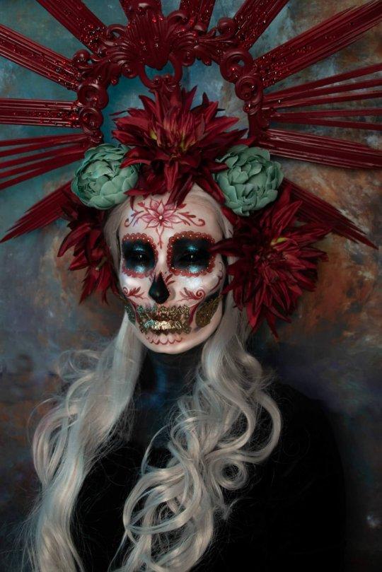 dias de los muertos makeup day of the dead by joyce spakman, candy makeup artist