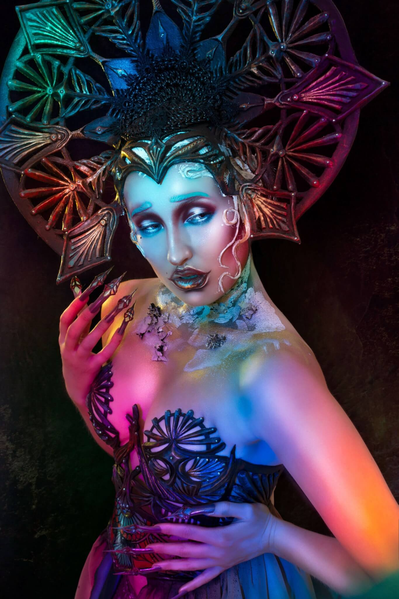 art nouveau photography by josefien hoekstra. make-up/ styling/ model: candy makeup artist