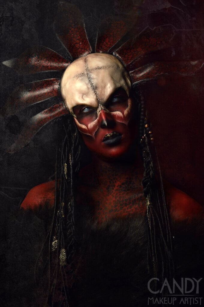 Voodoo Doll Styling & Makeup