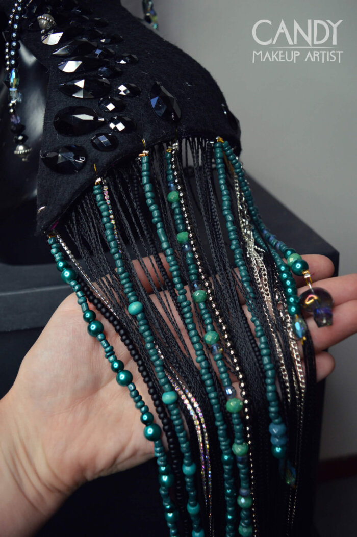 Disco costume - candy makeup artist