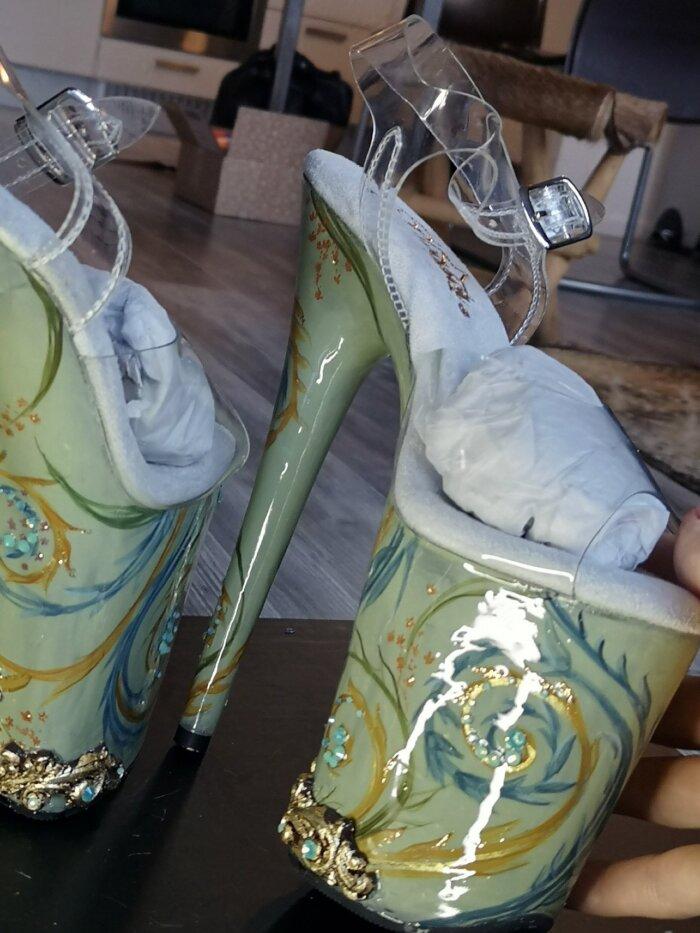 porcelain heels - candy makeup artist