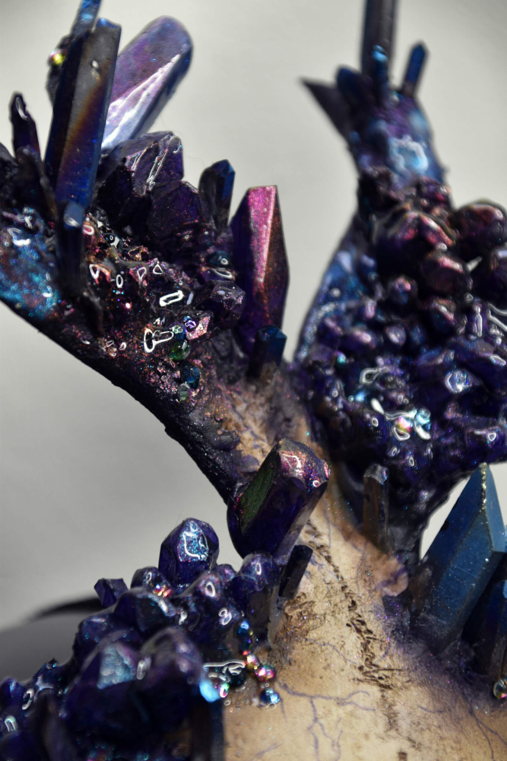 witch doctor voodoo mask - candy makeup artist
