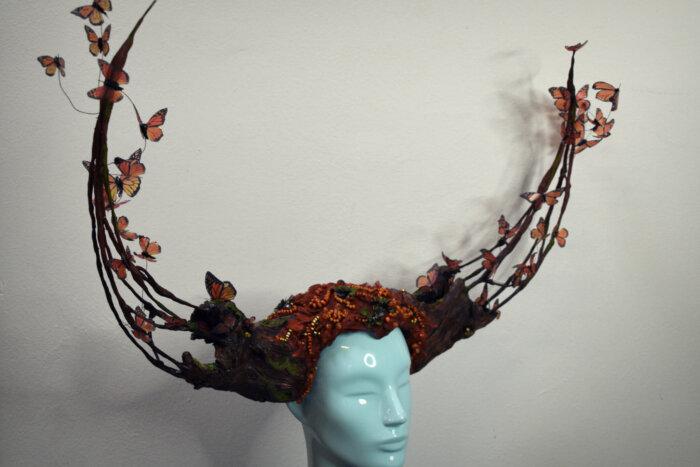 Monarch costume - candy makeup artist