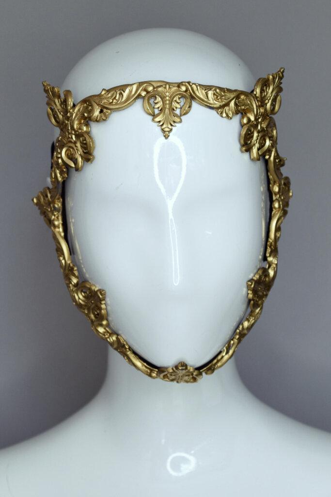 baroque mask - candy makeup artist