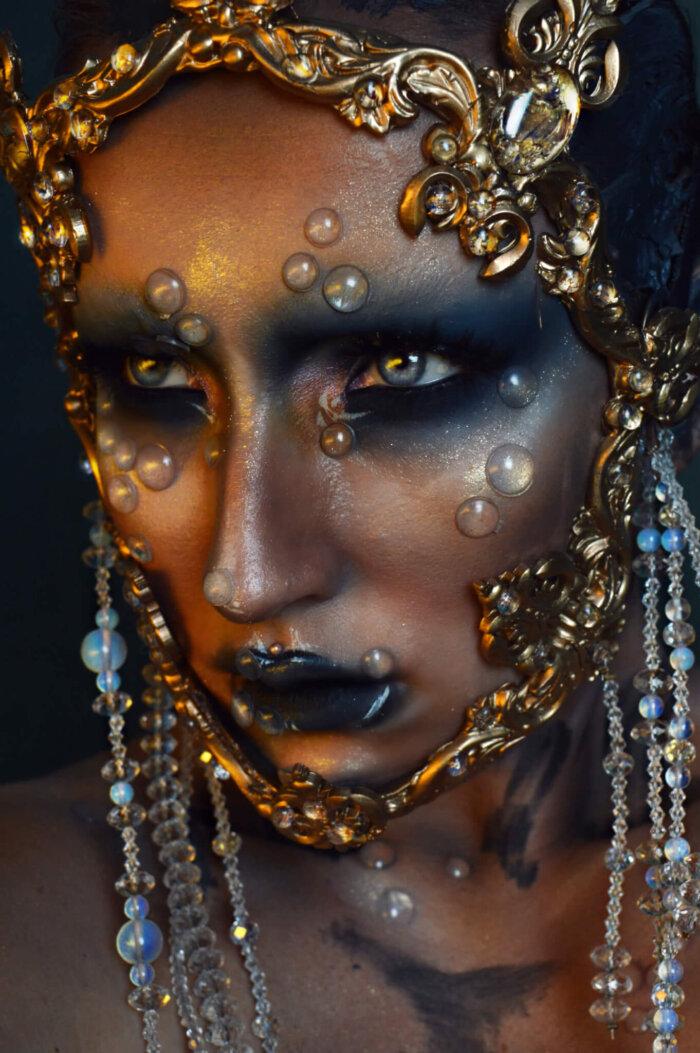 baroque fashion- candy makeup artist